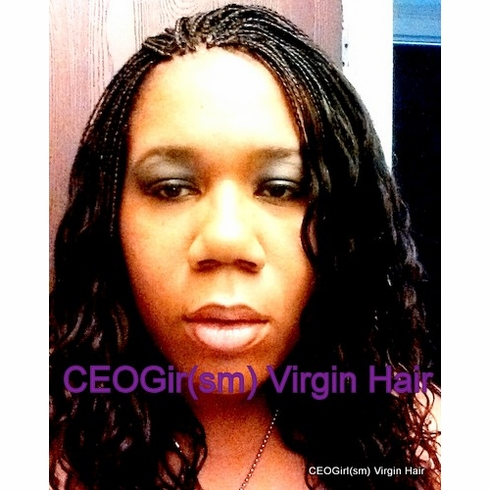 100% Real Human Hair- Curly Brazilian Remy Hair- CEOGirl(SM)