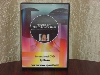 BEFORE YOU BRAID BLACK HAIR Dvd- For Black, and Bi-Racial Peoples