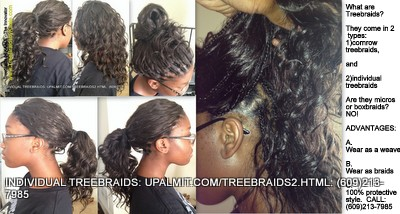 Individual Treebraids- Treebraids Are Not Only Available As Cornrows