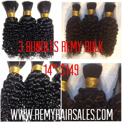 "BUY 100% Human Hair Supplies, AFRO KINKY CURLY REMY Hair 18"" x 3"
