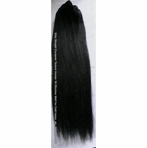 Buy 100% Human Weaving Hair Extensions- Straight 20""