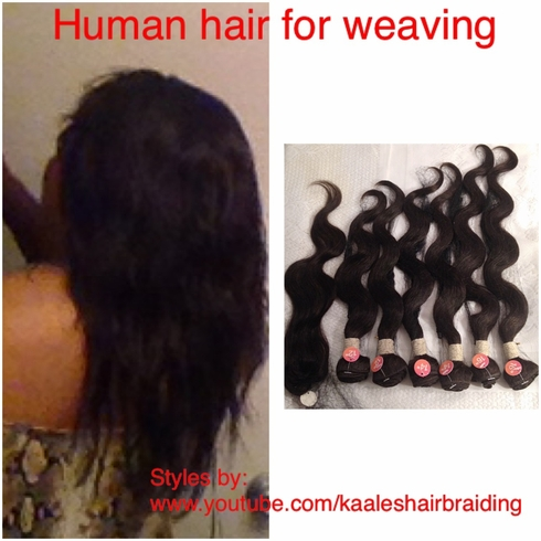 "Buy Weaving Human Hair 7 Pieces 16,16,14,14,12,12"" +Closing"