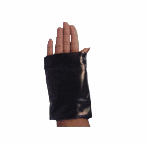 Fingerless Gloves- Stretch Fingerless Gloves- Sporty Biker