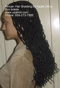 Hair Braiding- BOX BRAIDS, and Box Braids With Cornrows