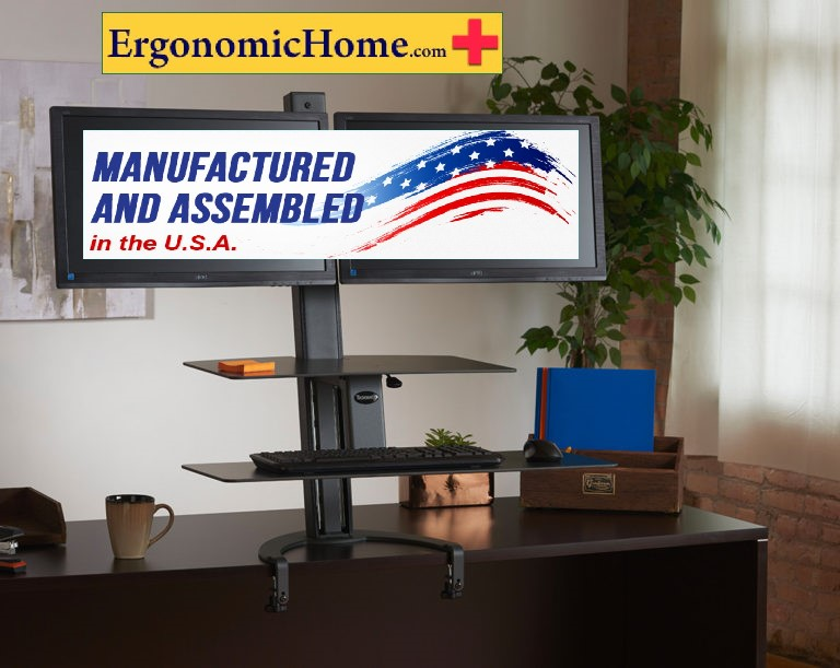 <font color=#c60>100% BAA (Buy American Act) & TAA (Trade Acts Agreement) Compliant. | </font>Health Postures By Ergonomic Home. <font color=#c60>Read More Below...</font>