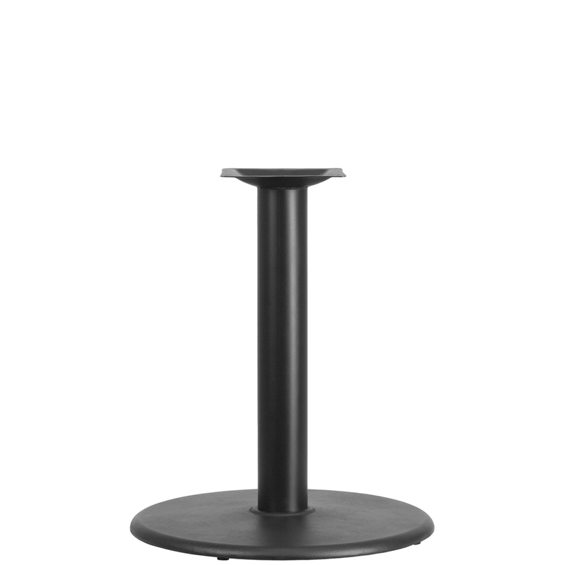 ERGONOMIC HOME 24'' Round Restaurant Table Base with 4'' Dia. Table Height Column