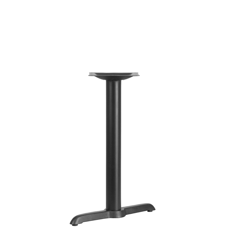 ERGONOMIC HOME 5'' x 22'' Restaurant Table T-Base with 3'' Dia. Table Height Column