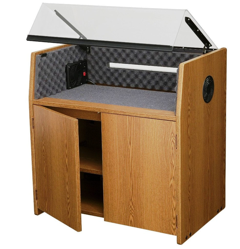 MOBILE ACOUSTICAL PRINTER COVERS FOR DOT MATRIX PRINTERS REDUCE DOT MATRIX PRINTER NOISE UP TO 95% SAVING YOUR HEARING AND SANITY. FREE SHIPPING BY ERGONOMICHOME.COM SAVES YOU MONEY!