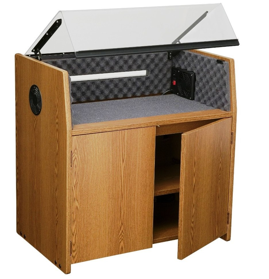 Acoustical Printer Sound Enclosure #EH-30231119. <font color=c#60>Reduces Noise up to 95%. Read More...</font>