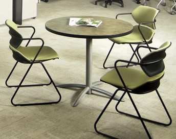Acton Upholstered Stack Chair #E-AC1020