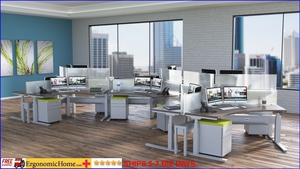<b><font color=#c60>ADJUSTABLE HEIGHT 911 CONTROL ROOM DESKS. SHIP 5-7 DAYS W/FREE SHIPPING.</b></font>