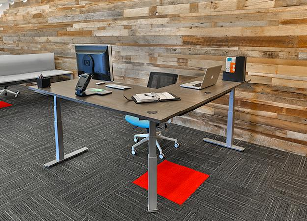 Adjustable Height Desk | Ships In 5-7 Business Days W/Free Shipping!