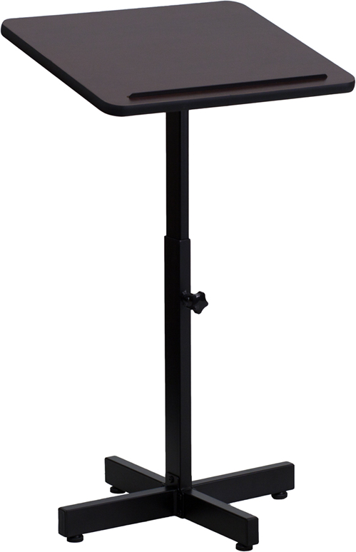 ERGONOMIC HOME Adjustable Height Metal Lectern