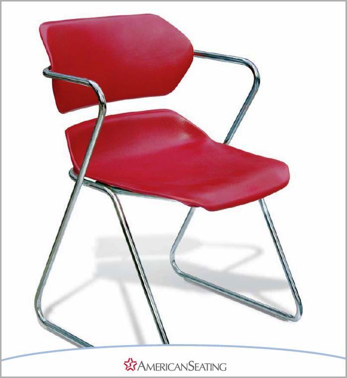 American Seating Acton Ganging Stacker w/Arms #AC0022  sc 1 st  ErgonomicHome.com & American Seating Acton Ganging Stacker w/Arms #AC0022   Plastic ...
