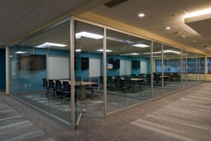 ARCHITECTURAL GLASS PARTITON WALLS. KI KRUEGER INTERNATIONAL SERIES: EVOKE, GENIUS, LIGHTLINE: