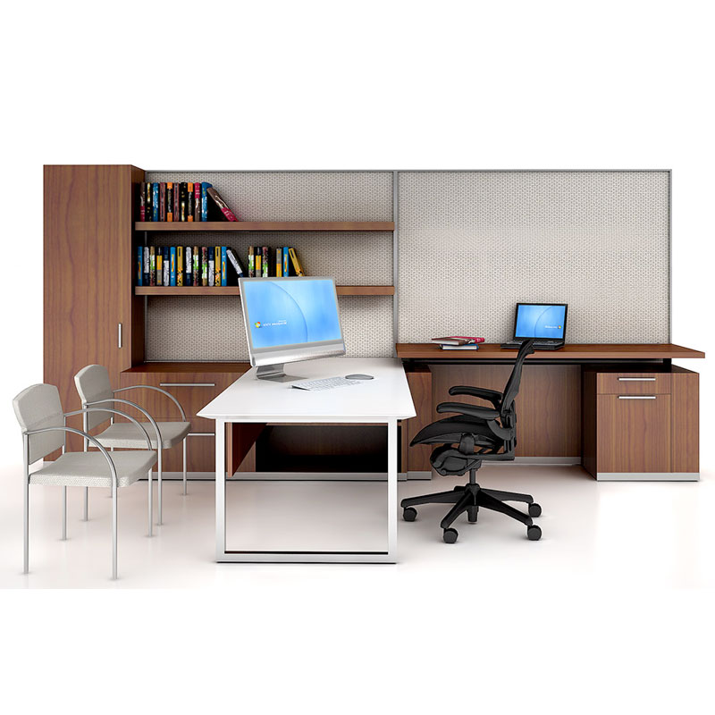 WOOD OFFICE FURNITURE: CONTEMPORARY, TRANSITIONAL, TRADITIONAL STYLES.