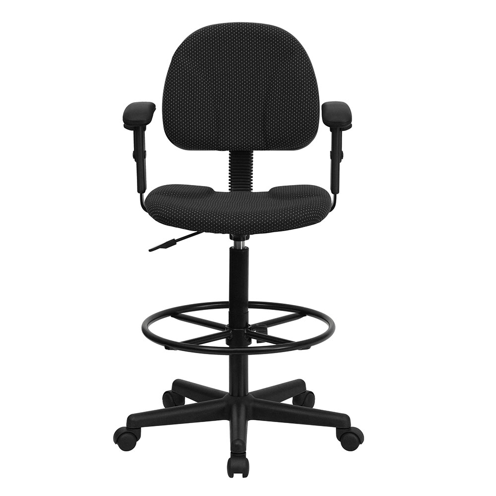 Adjule Height Desk Chair Without Wheels Revolutionhr