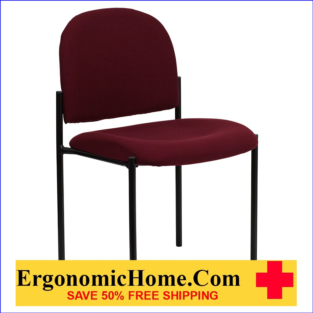 </b></font>Ergonomic Home Burgundy Fabric Comfortable Stackable Steel Side Chair EH-BT-515-1-BY-GG <b></b></font>  VIDEO BELOW. </b></font></b>