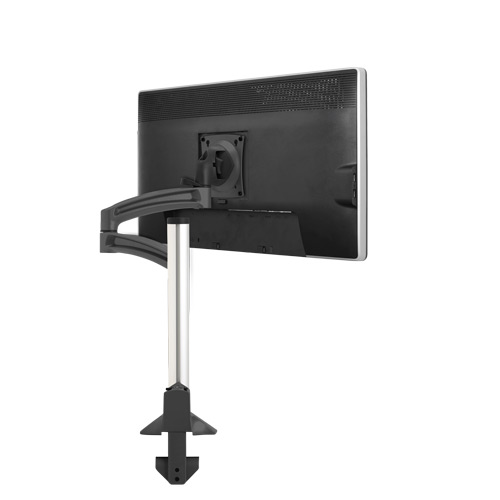 CHIEF SINGLE ADJUSTABLE MONITOR ARM #K2C120B. ADJUST YOUR MONITOR PRECISELY. VIDEO:  <font color=#c60><b>ADD TO CART FOR FREE SHIPPING.</font></b> </font></b>