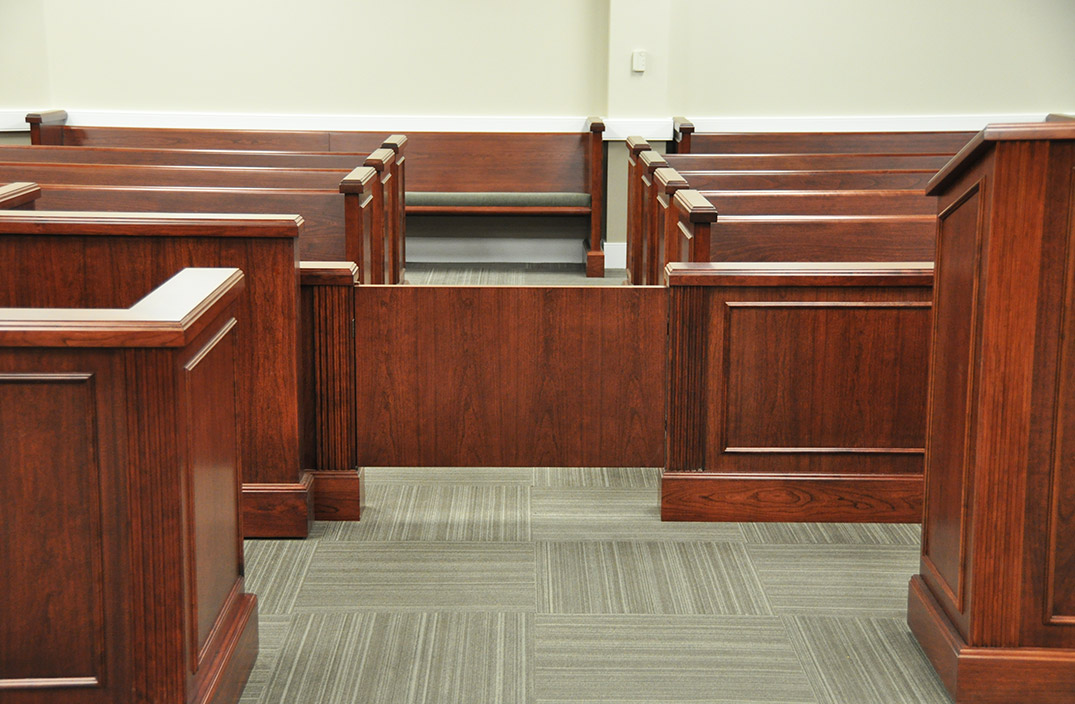 Courtroom Spectator Seating