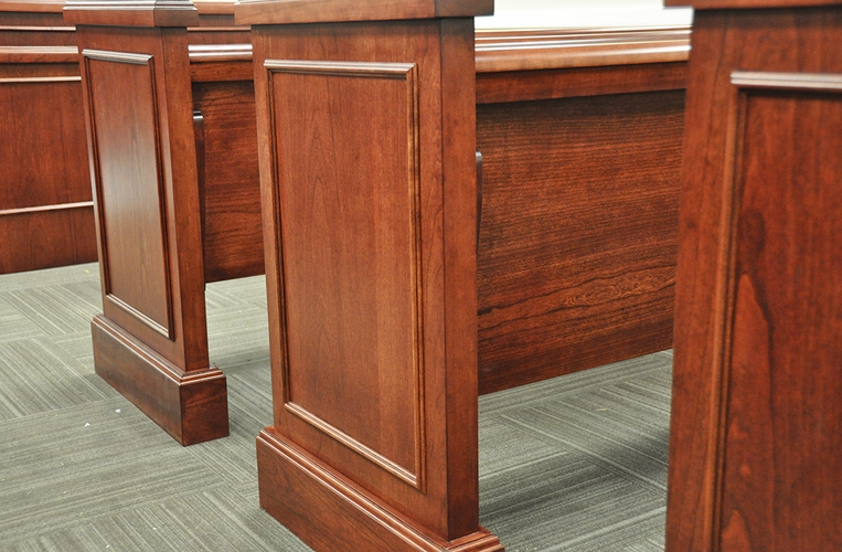 Courtroom Spectator Seating End Panels