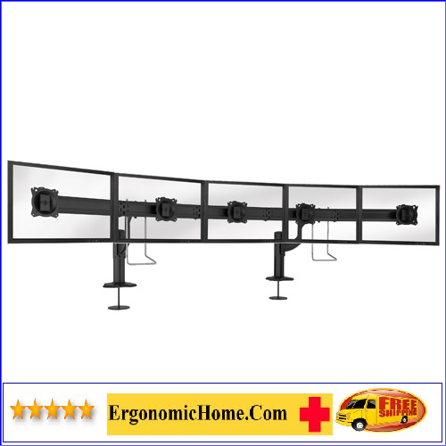 ERGONOMIC HOME CHIEF ADJUSTABLE MONITOR ARM #K4G510B</font></b>