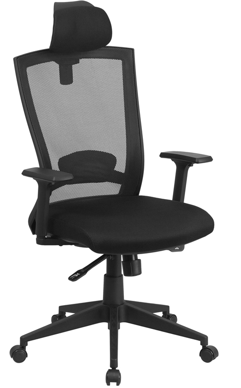 </b></font>Ergonomic Home High Back Black Mesh Executive Swivel Office Chair with Back Angle Adjustment EH-HL-0004K-HR-GG <b></font>. </b></font></b>