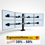 Ergonomic Home Innovative BILD Adjustable and Fixed Monitor Stands. Change, Adjust, Adapt. BILD Is Built Like A Hi-Rise Building W/Vertical And Horizontal Beams For Strength And Rigidity. <font color=#c60>Read More...</font>