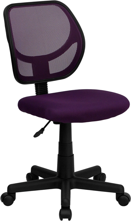 Ergonomic Home Low Back Purple Mesh Swivel Task Chair EH-WA-3074-PUR-GG <b><font color=green>50% Off Read More Below...</font></b>