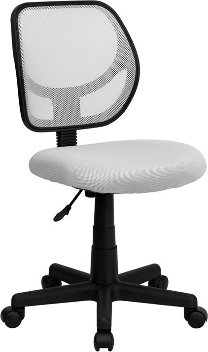 Ergonomic Home Low Back White Mesh Swivel Task Chair EH-WA-3074-WHT-GG <b><font color=green>50% Off Read More Below...</font></b>