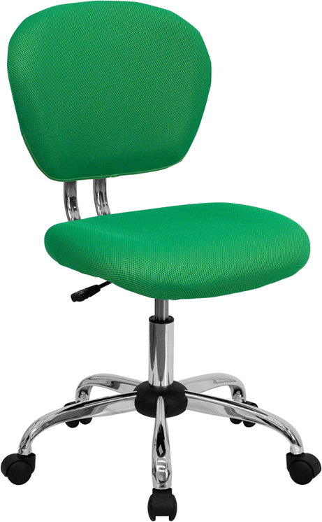 Ergonomic Home Mid-Back Bright Green Mesh Swivel Task Chair with Chrome Base EH-H-2376-F-BRGRN-GG <b><font color=green>50% Off Read More Below...</font></b>