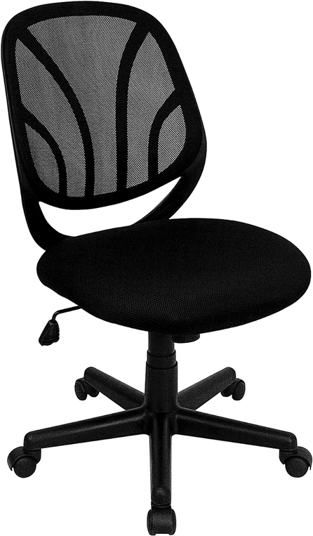 Ergonomic Home Mid-Back Black Mesh Swivel Task Chair EH-GO-WY-05-GG <b><font color=green>50% Off Read More Below...</font></b>