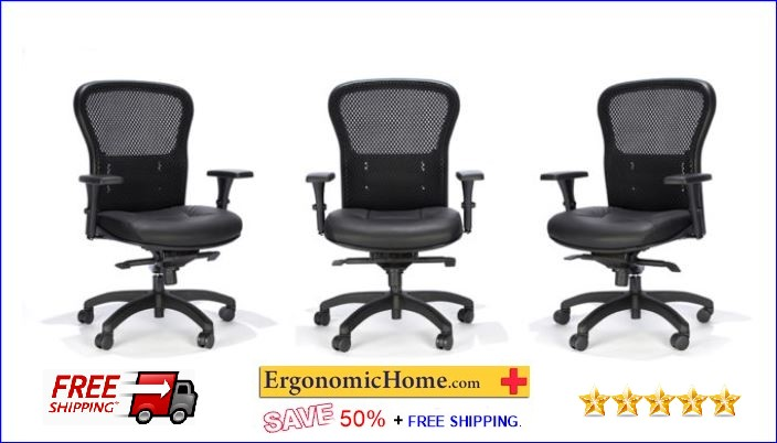 Essentials Mesh Ergonomic Office Chair by RFM #162Q. Good for everybody, especially yours! <b><font color=green>50% Off Read More Below...</font></b>