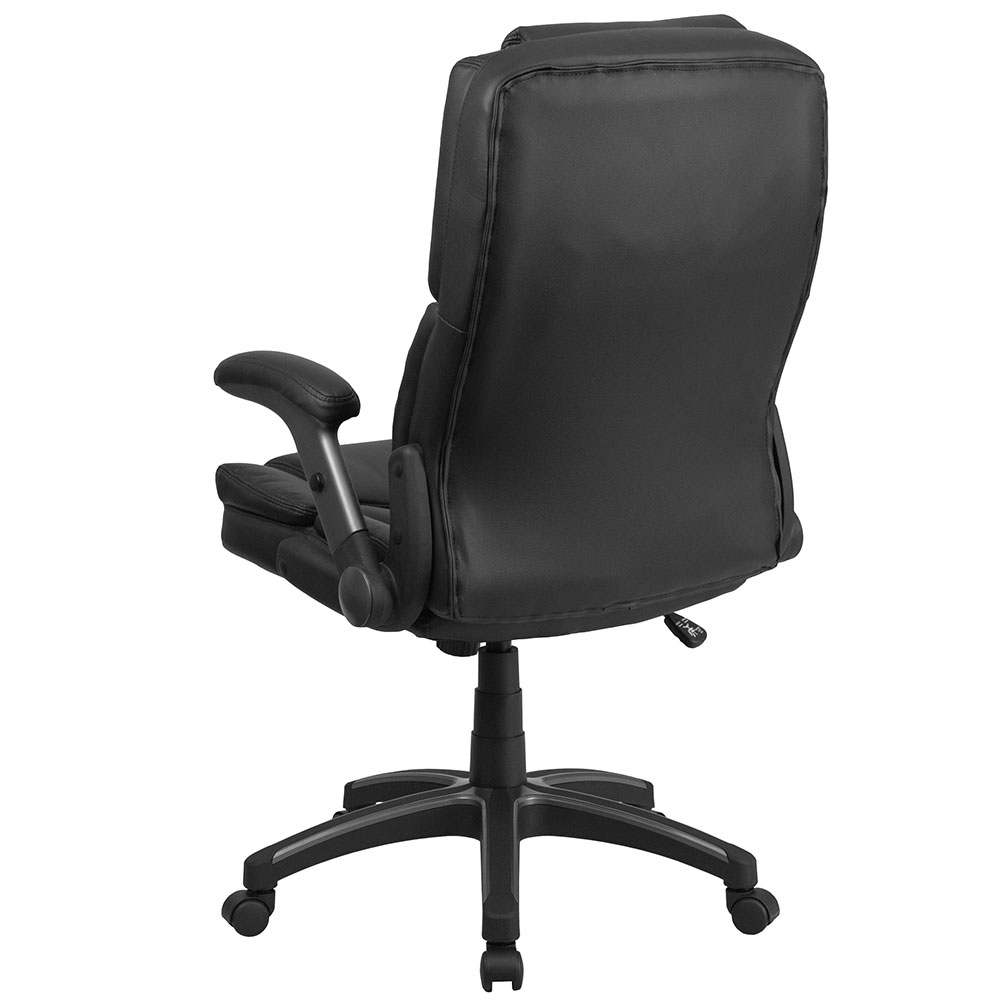 Ergonomic Home Extreme Comfort High Back Black Leather