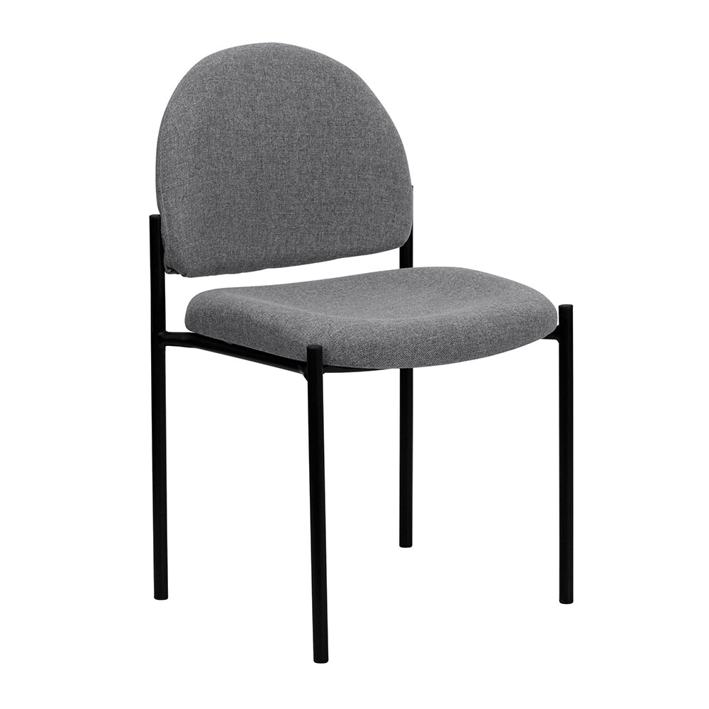 Ergonomic Home Gray Fabric Comfortable Stackable Steel Side Chair EH-BT-515-1-GY-GG  <b><font color=green>50% Off Read More Below...</font></b>