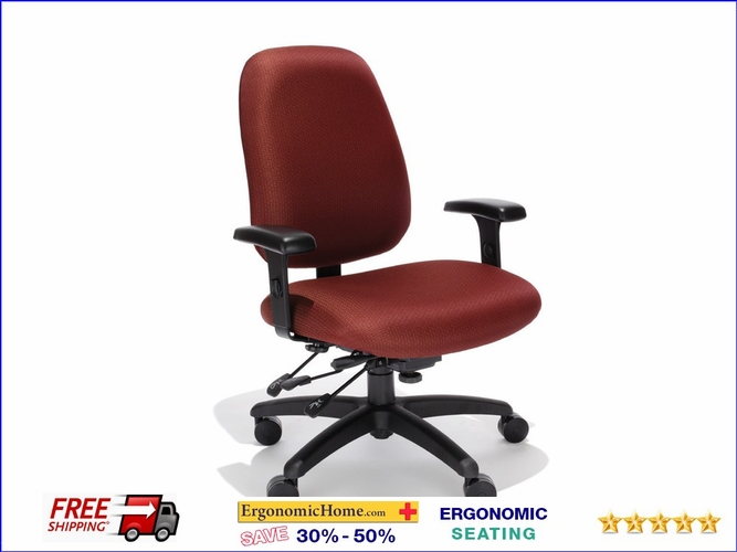 ErgonomicHome.com Heavy Duty Computer Chair RFM Protask #BT55-25A Holds Up To 400 lbs: