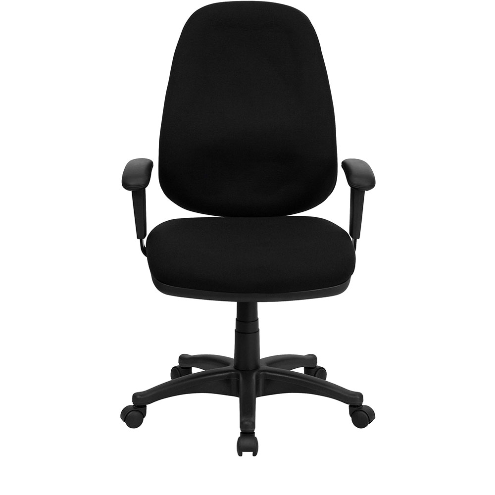 Ergonomic Home High Back Black Fabric Executive Ergonomic
