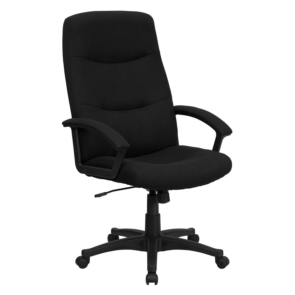 <font color=#c60>Save 50% w/Free Shipping!</font> High Back Black Fabric Executive Swivel Office Chair GO-5301B-BK-GG <font color=#c60>Read More ... </font>