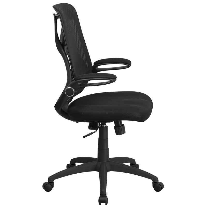 ergonomic home high back black mesh executive swivel office chair