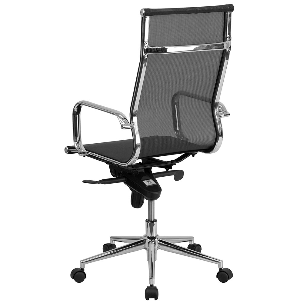 Ergonomic Home High Back Black Mesh Executive Swivel Office Chair With Synchro Tilt Mechanism 50 Off Read More Below