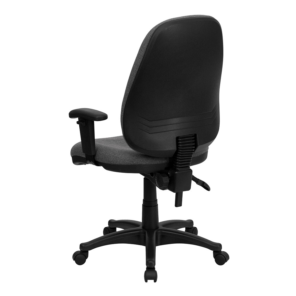 Ergonomic Home High Back Gray Fabric Executive Ergonomic