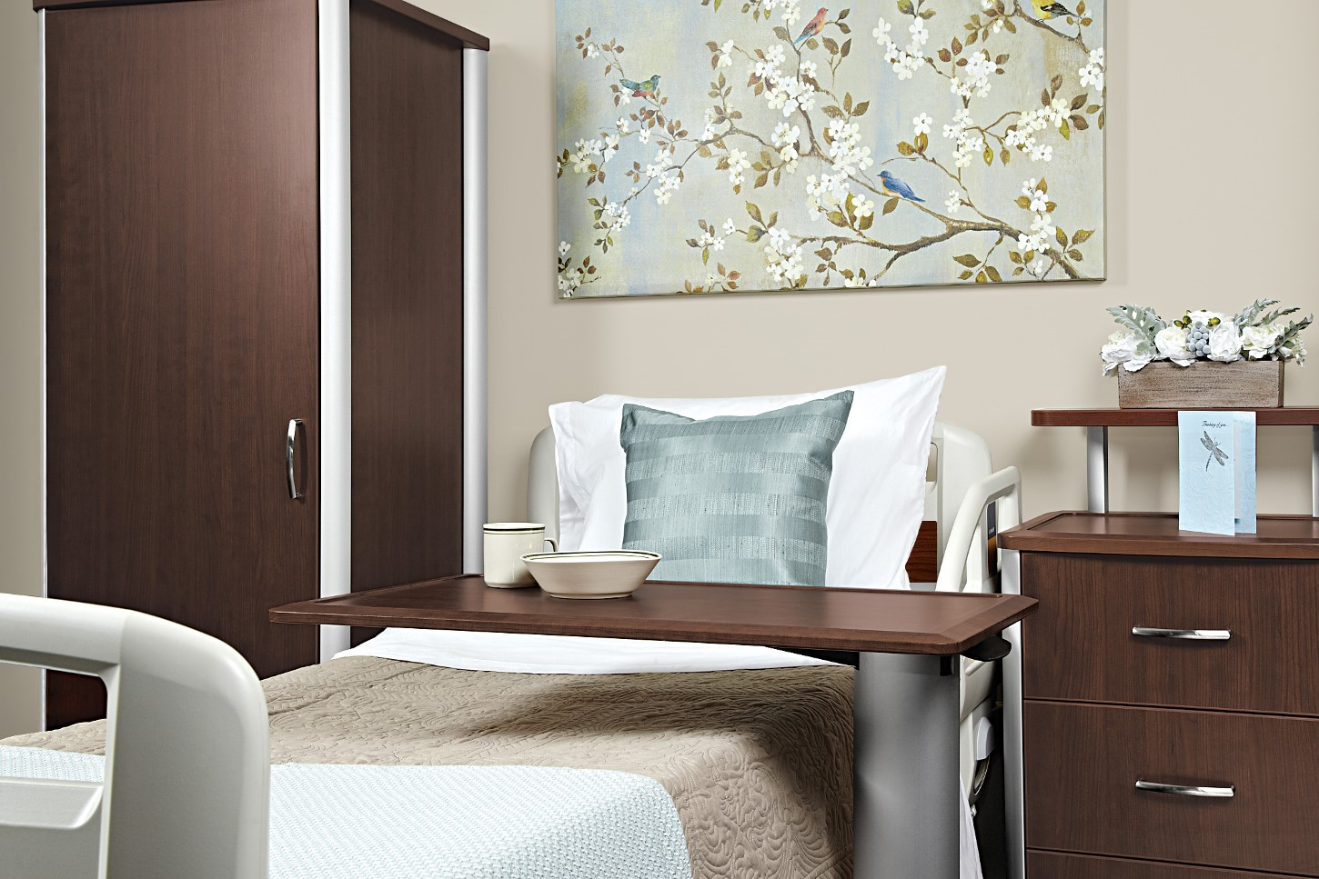 <b><font color=blue>GIBRALTER PATIENT ROOM FURNITURE BY STANCE HEALTHCARE</font></b>