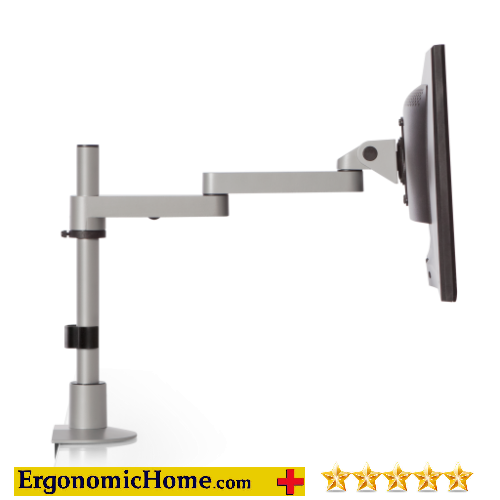 "Ergonomic Home LCD Monitor Arm #9130-S-14-FM Extends 16"" Horizontally:"