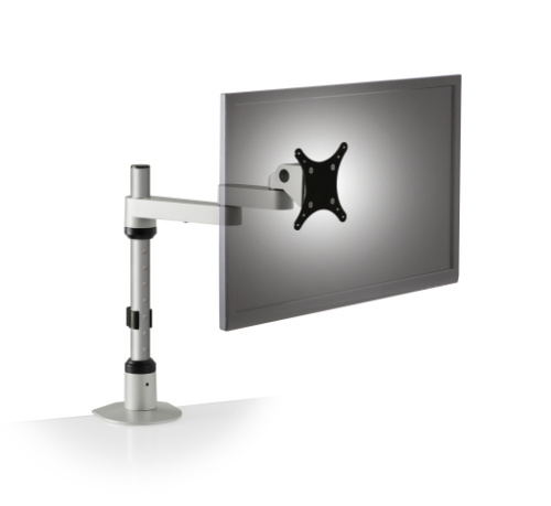 Innovative Monitor Stand #9114-S-FM Adjusts Vertically and Horizontally. Read More Below.