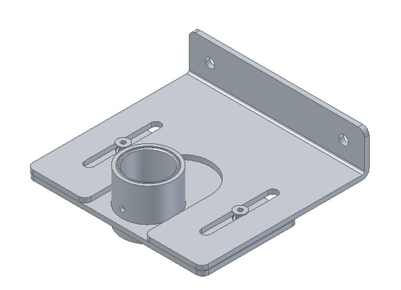 Innovative stabilizer wall bracket #8208-104