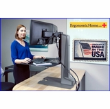 Innovative Winston Electric Motorized Monitor Stand #WNSTE-2-270 | Stand To Work Fit. Read More Below.
