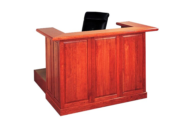 Judges Desk Height Adjustable Courtroom Bench Bullet