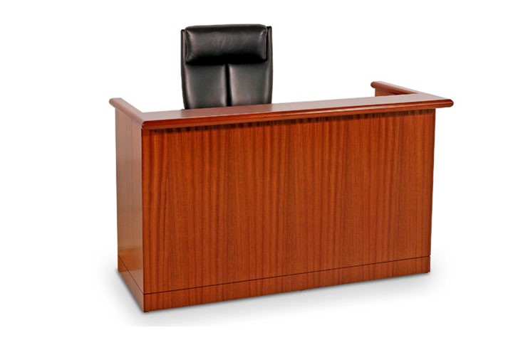 JUDGES BENCH CONTEMPORARY STYLE DESK: