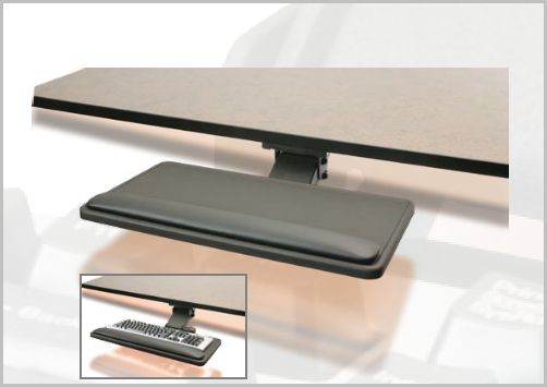 KEYBOARD SYSTEM INCLUDES ADJUSTABLE KEYBOARD MECHANISN AND KEYBOARD TRAY #AM15 & P01SV. FREE SHIPPING SAVES YOU MONEY.