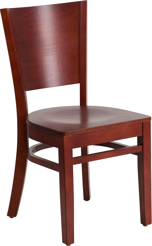ERGONOMIC HOME TOUGH ENOUGH Series Solid Back Mahogany Wooden Restaurant Chair <b><font color=green>50% Off Read More Below...</font></b>